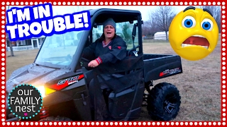 9. DESTROYED OUR BRAND NEW POLARIS RANGER!!