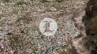 Cúmulo de basura arropa el malecón de Santo Domingo