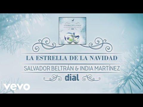 Tekst piosenki India Martínez - La Estrella de la Navidad (con Salvador Beltrán) po polsku