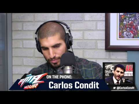 Rory macdonald - Carlos Condit talks about his upcoming fight against Rory MacDonald at UFC 158, who he thought deserved the next shot at GSP and much more on The MMA Hour. S...