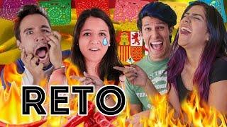 ¿CUÁNTO PICANTE AGUANTAN LOS ESPAÑOLES? | EXPCASEROS Y RETO POLINESIO #YOUTUBEPROWEEK