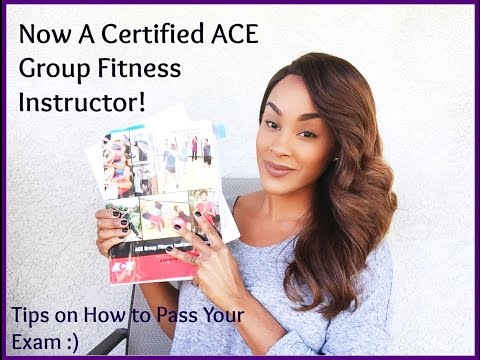 How to Pass Your ACE Group Fitness Instructor Exam - Where I've been