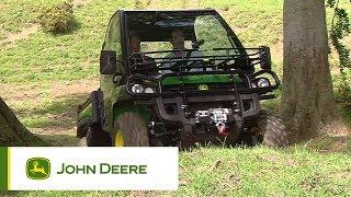 10. John Deere XUV855D Gator Utility Vehicle