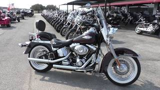 5. 025861 - 2011 Harley Davidson Heritage Softail Classic   FLSTC - Used motorcycles for sale