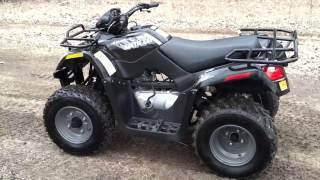 7. 2012 Artic Cat 150 utility quad