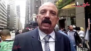 وقفة حاشدة للمصريين تأييدا للرئيس السيسي أمام مقر إقامته