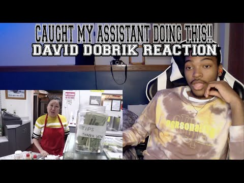 CAUGHT MY ASSISTANT DOING THIS!! - David Dobrik *REACTION*