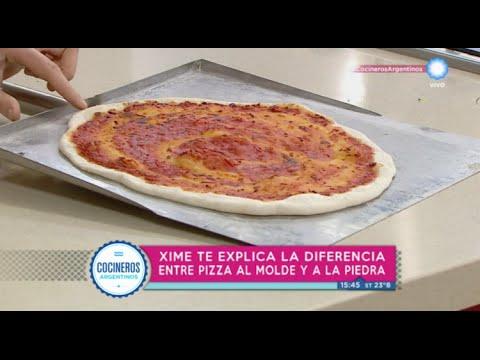 Diferencias entre pizza al molde y a la piedra