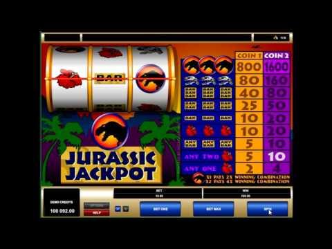 Игровой слот Джекпот Юрского периода (jurassic jackpot) - обзор характеристик от casinoavtomaty.com