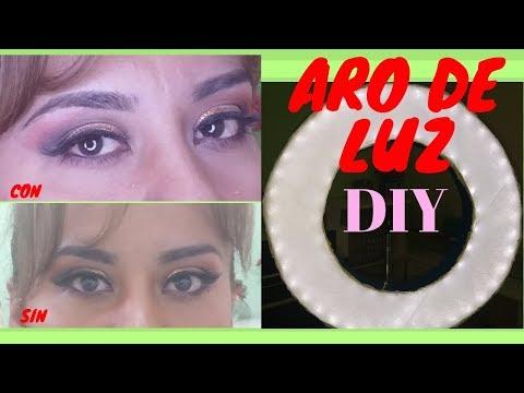 Videos caseros - DIY...ARO DE LUZ  casero para vídeos, maquillajes y fotografías/Por $ 9.99