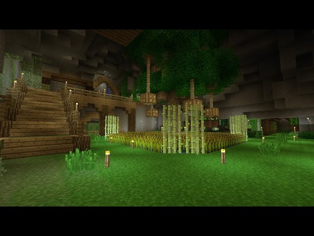 Minecraft underground base tour for Classic underground house tracks