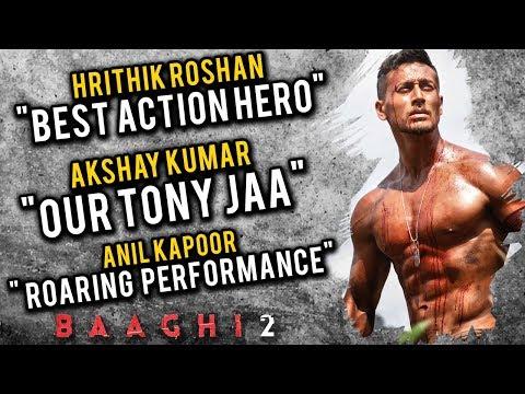 Bollywood Praises Baaghi 2 | Akshay Kumar, Hrithik