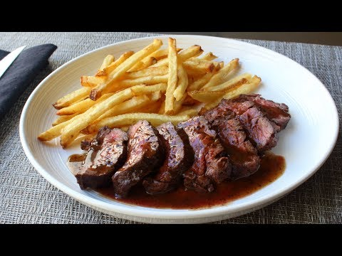 Butcher's Steak (aka Hanger Steak) - How to Trim and Cook Butcher's Steak