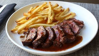Butcher's Steak (aka Hanger Steak) - How to Trim and Cook Butcher's Steak by Food Wishes