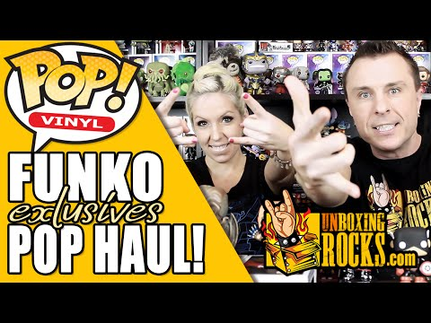 FUNKO POP HAUL! 2015 Exclusives from Comikaze, NYCC, and Hot Topic