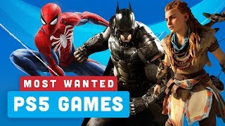 Your Most Wanted PS5 Launch Game Titles - Power Ranking by IGN