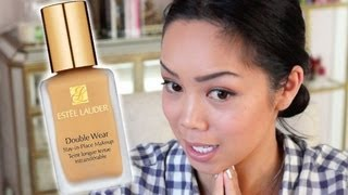 Estee Lauder Double Wear Foundation - First Impression Review - Itsjudytime