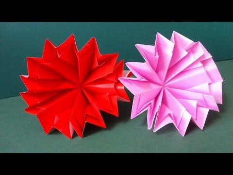 Flower Tutorial - 037 -- Carnation
