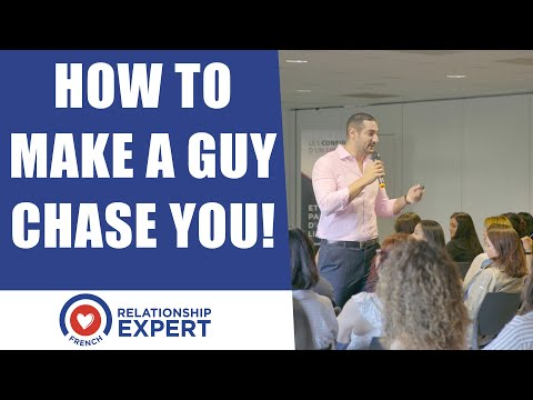 How To Make A Guy Chase You! Using Male Psychology!