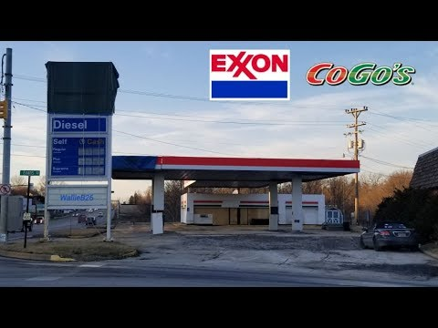 Abandoned Exxon / CoGos Butler, Pa