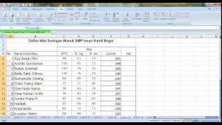Belajar Ms. Excel jauh lebih mudah dengan video tutorial.. LAtihan Menu Data sort dan filterhttp://infoimam.guru-indonesia.net/excelexcel 2007Microsoft Excel (Software)rumusrumus excelmenggunakan rumuspengetahuandasarTutorialExcel 2007MS ExcelExcelPengenalanCaratabelmembuat tablekursuskursus komputertutorial excel indonesiakursus excel indonesiakursus exceltutorial excelexcel tutorialsmicrosoft excel tutorialexcel 2007 tutorialtutorial excel 2003free excel tutorialms excel tutorialtutorial for excelfree excel tutorialstutorial excel pdftutorial exeladvanced excel tutorialbasic excel tutorialdownload tutorial excelMacroTutorial (Industry)Aplikasisummaxminaveragedasar-dasarms.excelmicrosoft excelandtruefalseiffarvlookuphlookupcountcountifsqrtintcharLessonSongSchoolTeacherrumus excel ifrumus if excelfungsi if excelbelajar excelrumus ifrumus sumrumus averagems exceldata nilaiformula exelfungsi excelbisnis exceloptimalkan excelManagementSoftwareDataSystemBusinessLearnStudentsgabungan fungsifungsi gabungangabunganfungsiMs. ExcelFungsi VlookupRumus Formula ExcelBelajar ExcelBelajar Microsoft Excel 2007 DasarBelajar Microsoft Excel 2007Microsoft Excel 2007 DasarLessonsStudentEducationmicrosoftTutorial Ms. ExcelBelajar Ms. ExcelpivottableofficehowtohowtotutorialExcel (band)StickAnimationTennisMobile DeviceOpenFlashFigureTechnologyIntroSoftware TutorialIntroductionFiguresNewHelpSecurityTipsInformationNeedTricksmembuat tabelinput dataterbilangmacromembuat terbilangmacro terbilangterbilang excelcode terbilangsource code terbilang