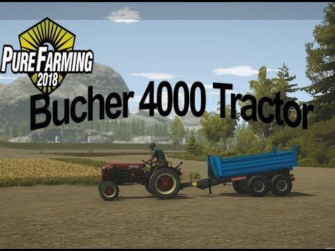 Bucher 4000 Tractor v1.0