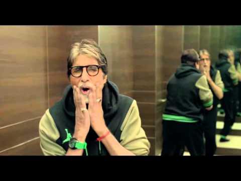 Amitabh Bachchan in Aaj Ki Raat Hai Zindagi