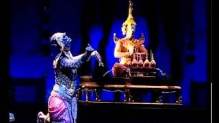Khon: Classical Thai Dance Drama Part 4 Of 11 โขน พรหมาศ