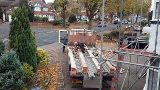 scaffolding timelapse