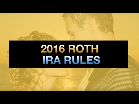 Roth IRA Rules 2017 & Beyond: Eligibility, Income, Contribution Rules and More