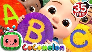 Video ABC Song + More Nursery Rhymes & Kids Songs - CoCoMelon MP3, 3GP, MP4, WEBM, AVI, FLV Juni 2019