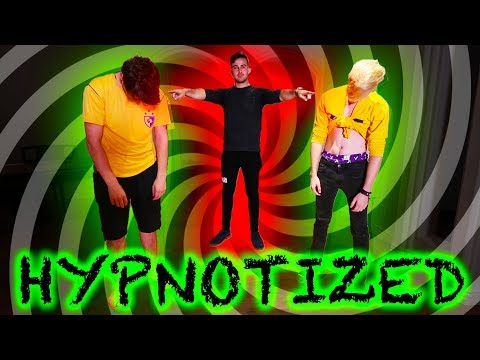WE GOT POSSESSED BY A HYPNOTIST (gone wrong)