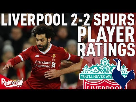 Salah & Firmino Get 9s! | Liverpool V Spurs 2-2 | Player Ratings