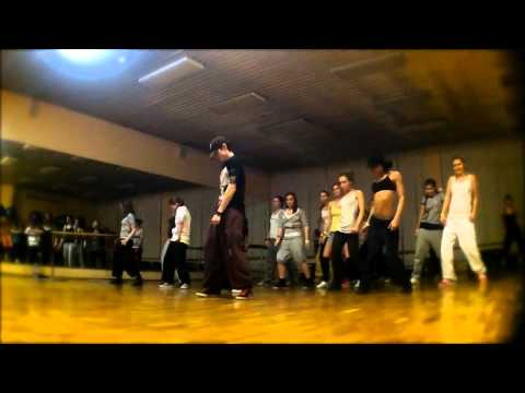 11/12/11 Dancehall Workshop by Andrey Boyko @TOL'YATI (Russia) (видео)