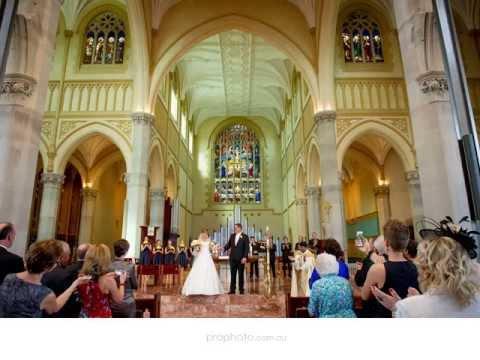 Wedding Photographers Perth |  St Marys Cathedral, Perth & Fremantle - Kerriann + Stephen
