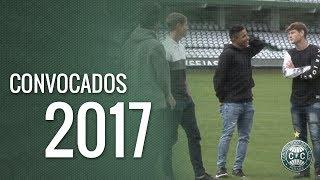 Conheça quem são os atletas do Coritiba que já foram convocados pela Seleção Brasileira neste ano!