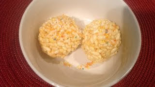 Pori Urundai Or Puffed Rice Sweet Ball