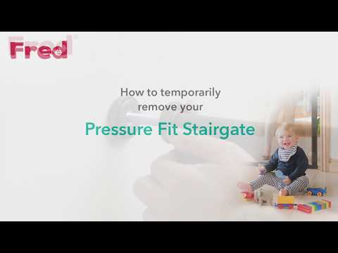 Fred Stair Pressure Fit Gate You Can Do It Fitting Video