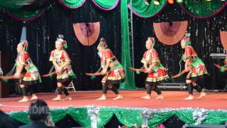 Fresno Hmong International New Year 2012 Dance Competition Round 3 - NKAUJ HMOOB SEEV CEV