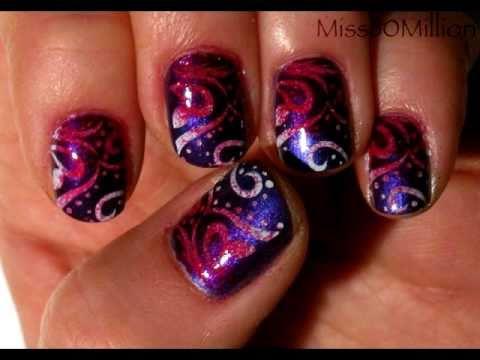 nagel muster selber machen beauty n gel nagellack - Nagel Muster Selber Machen