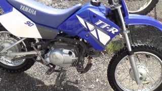 7. 2001 Yamaha TTR 90 - Back Together