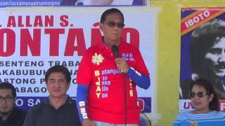 Binay triumphs his experiences in gov't