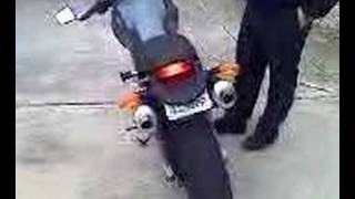 6. Ducati Monster 1000s full Akrapovic exhaust