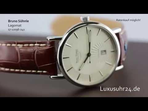 Bruno Söhnle Lagomat 17-12096-241 Luxusuhr24 Ratenkauf ab 20 Euro/Monat