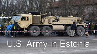 Parnu Estonia  city pictures gallery : U.S. Army Convoy in Estonia (Pärnu) (1080p)