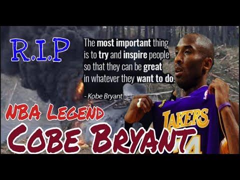 NBA Legend Cobe Bryant killed in helicopter crash