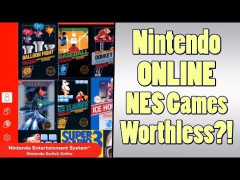 Nintendo Online NES Rental Service is WORTHLESS!