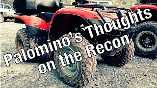 8. Honda Rancher & Recon ATV Trail Ride: Palomino's Thoughts On The Recon @ Uwharrie