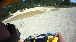 7. Kawasaki 360 going threw some mud @ bundyhilloffroadpark