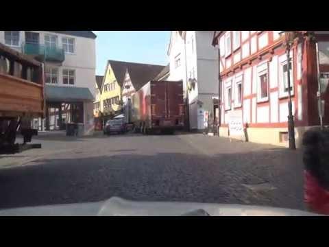 Homberg Fluss Ohm & Ober Ofleiden Vogelsbergkreis Hessen 25.7.2013 (видео)